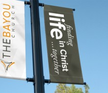 Brand Pole Banners
